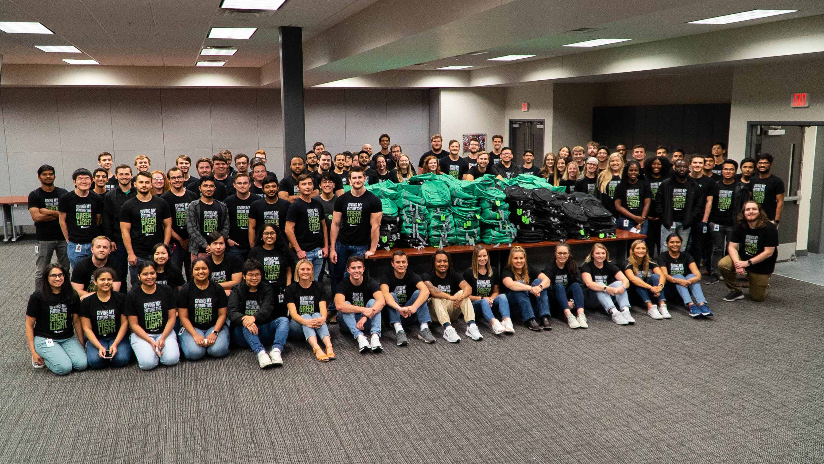 Paycom Interns Fill 600 Backpacks With School Supplies for OKC Students