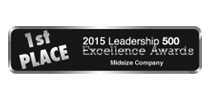 Lead's 1st Place Leadership 500 Excellence Award