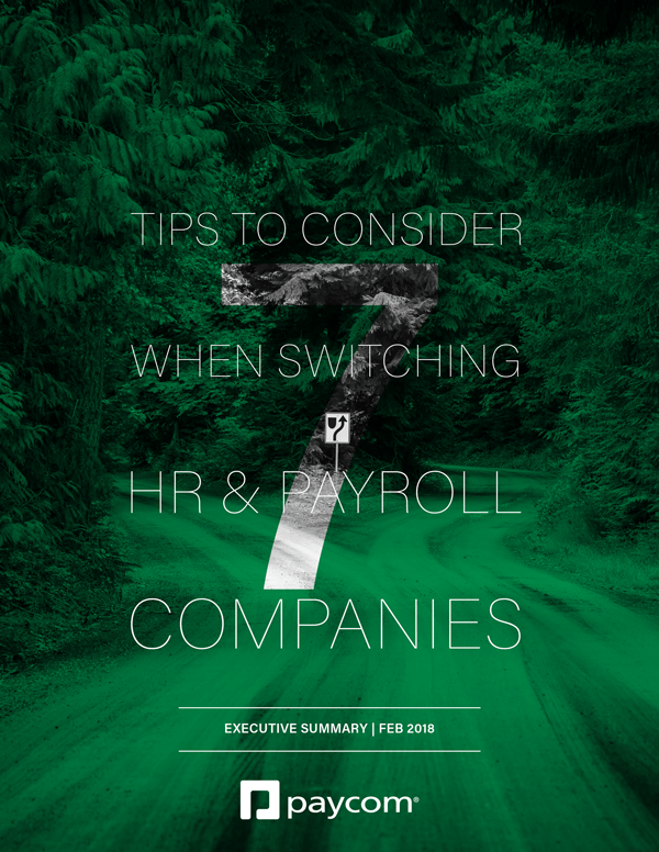7 Tips to Consider When Switching HR and Payroll Companies